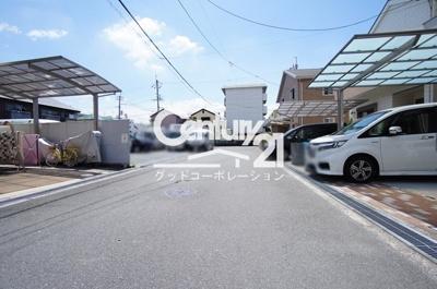 【前面道路含む現地写真】茨木市沢良宜浜2丁目戸建