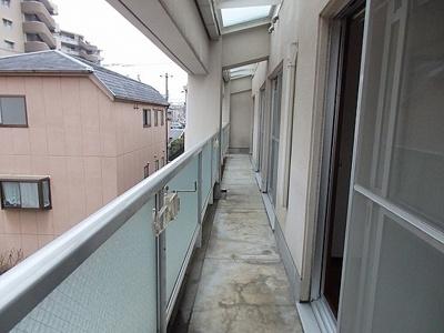 【バルコニー】ヴィラコート深江2