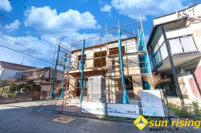 【外観】武蔵村山市伊奈平6丁目 新築戸建 全1棟
