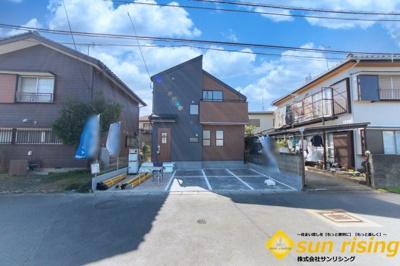 【外観】武蔵村山市三ツ藤2丁目 新築戸建 全1棟