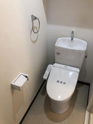 【トイレ】ヴィラ湯沢