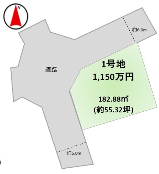 【土地図】牛久市さくら台6期