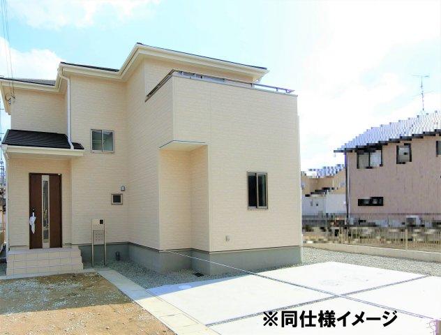 【外観:施工例】大和高田市西坊城20‐1期 新築(全7棟)1号棟