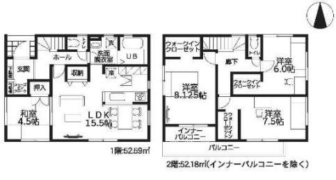 大和高田市西坊城20‐1期 新築(全7棟)3号棟