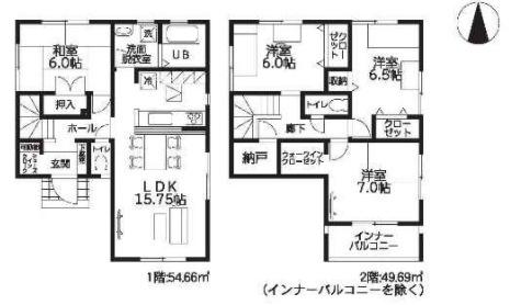 大和高田市西坊城20‐1期 新築(全7棟)4号棟