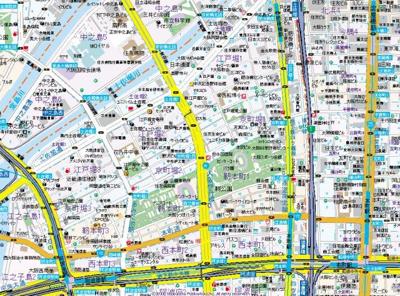 【地図】ハーヴェスト京町堀