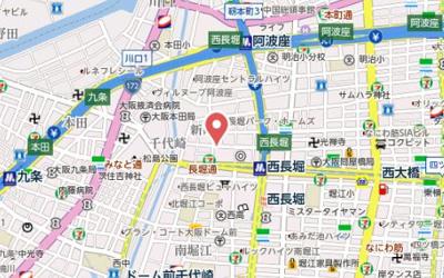 【地図】ルクレ西長堀