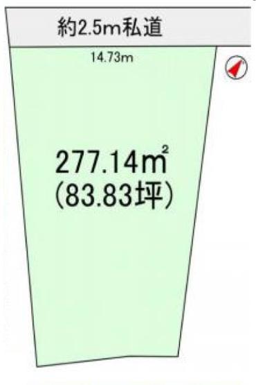 【土地図】龍ヶ崎市寺後