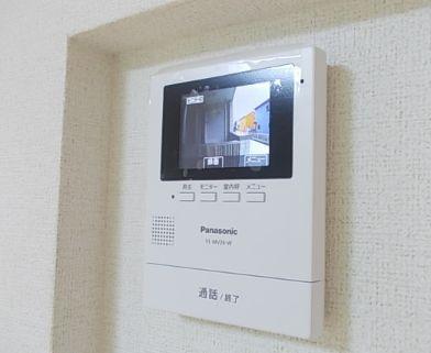 TVモニターホン付き。