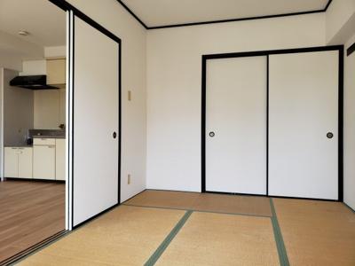 和室6.0帖☆神戸市垂水区 コウアロイヤル垂水Ⅱ 賃貸☆