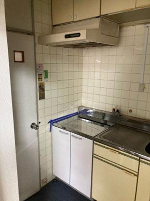 【キッチン】コーポ茶屋テナント1階