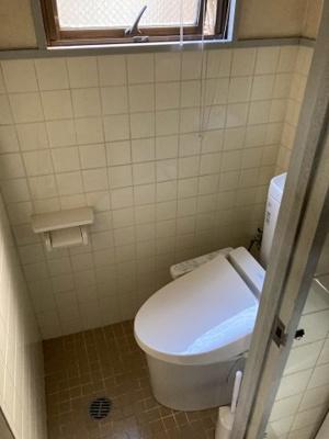 【トイレ】コーポ茶屋テナント1階