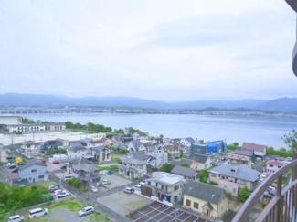 【展望】琵琶湖アーバンリゾートⅢ番館