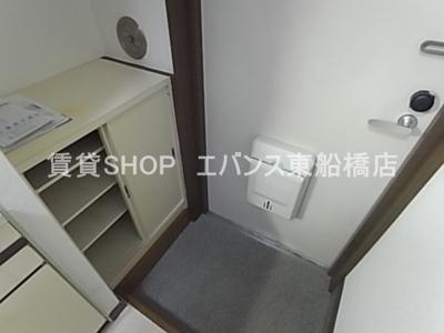 【玄関】タケハイム船橋