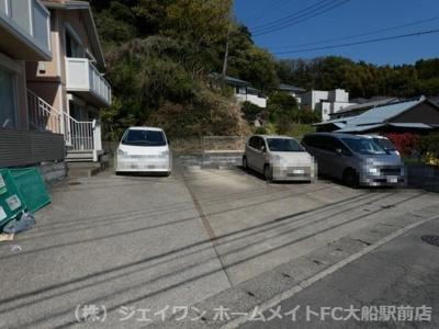 【駐車場】ソレアード鎌倉