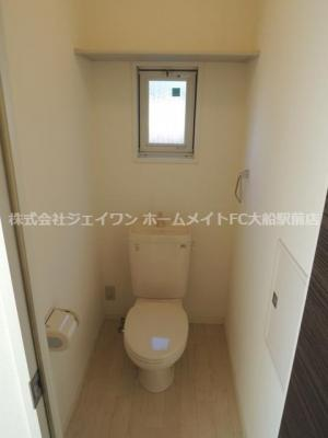 【トイレ】ソレアード鎌倉