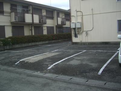 【駐車場】クラインハイツA棟
