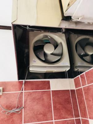 キッチン換気扇。