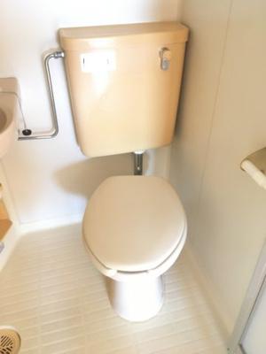 【トイレ】コーポ殿山