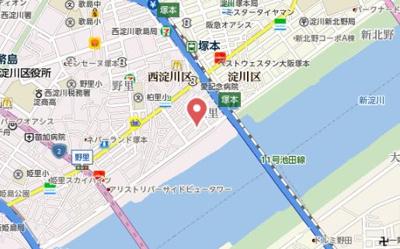 【地図】セラヴィ・エム