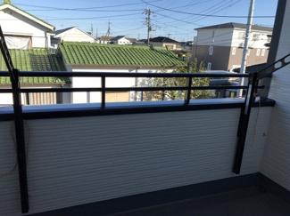 【バルコニー】鴻巣市箕田の新築戸建 全3号棟 2号棟