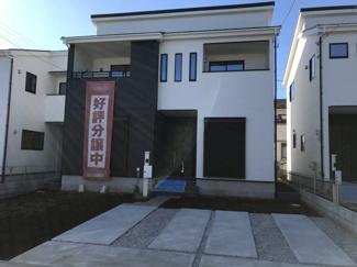 【外観】鴻巣市箕田の新築戸建 全3号棟 2号棟