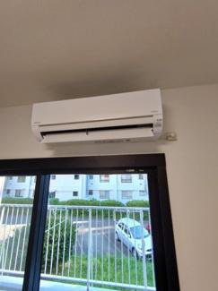 【冷暖房・空調設備】緑ヶ丘第一住宅 4302号棟