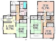 新座市大和田1丁目 中古一戸建 ~オール電化住宅~の画像