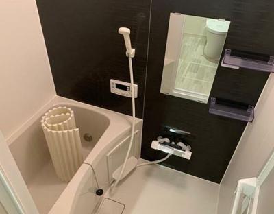 【浴室】クロームキューブ