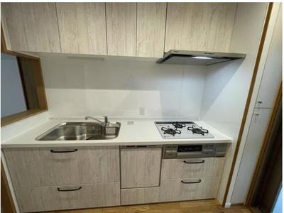 2021年7月システムキッチン新調です!