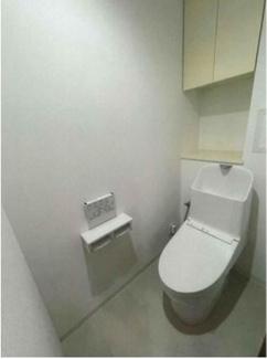 ウォシュレット機能付きトイレも新調!