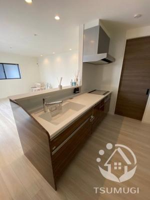 【前面道路含む現地写真】京田辺市薪畠 新築戸建