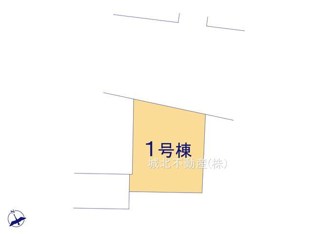 【区画図】練馬区上石神井4丁目 限定1棟