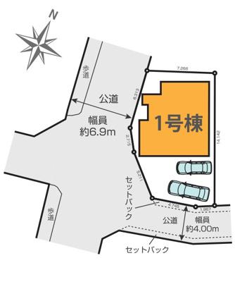 【区画図】東村山市恩多町 全1棟
