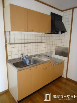 【キッチン】バーシア 2番館