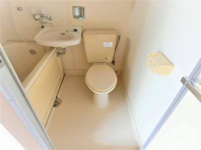 【トイレ】サニークレール5号棟