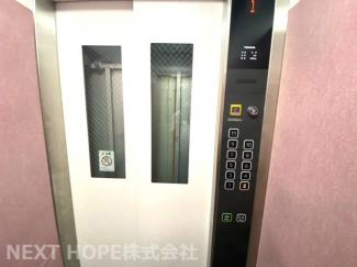 エレベーターです!重たい荷物も楽々移動できます♪