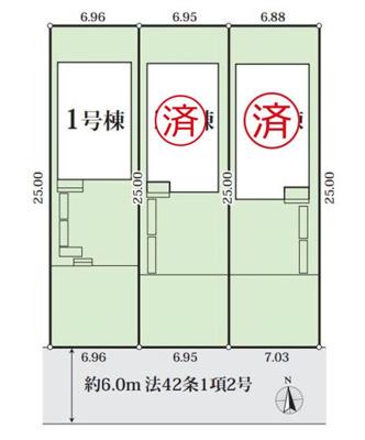 【区画図】GRAFARE名古屋市川園2期