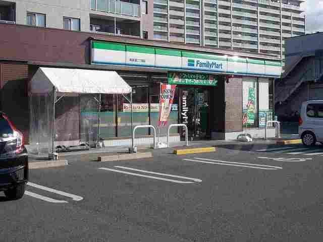 ファミリーマート南草津二丁目店まで100m