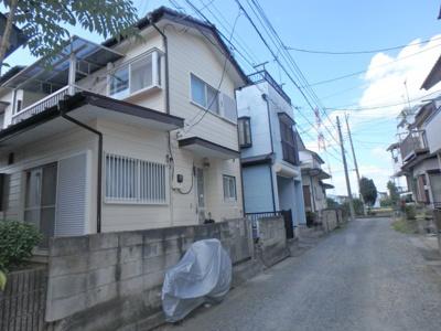【前面道路含む現地写真】鶴ヶ島市上広谷中古戸建