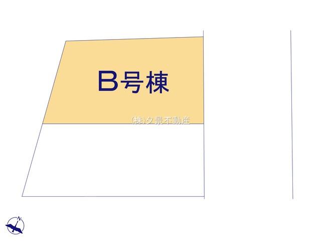 【区画図】桜区西堀2丁目6-4(B号棟)新築一戸建てクラヴィス