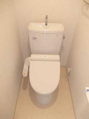 【トイレ】三軒茶屋グリーンマンション フルリフォーム済 2人入居可 追炊き 独立洗面台