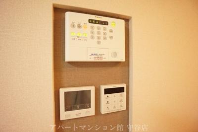 ALSOKホームセキュリティ標準搭載・カラーモニター付インターホン(録画機能付)