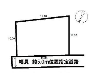 【区画図】坂戸市関間中古戸建