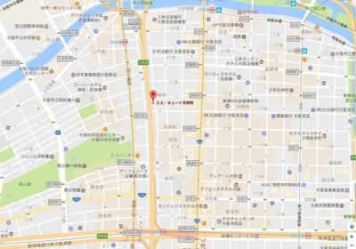 【地図】エスキュート平野町