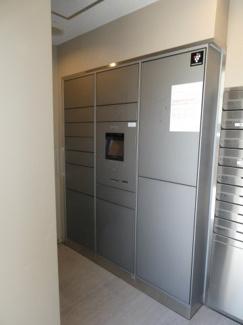 荷物のサイズに合わせて様々な大きさに対応できる宅配ボックス