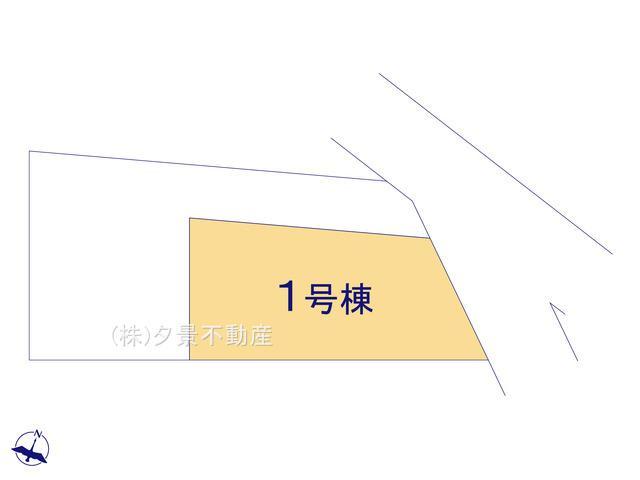 【区画図】見沼区堀崎町184(1号棟)新築一戸建てミラスモ