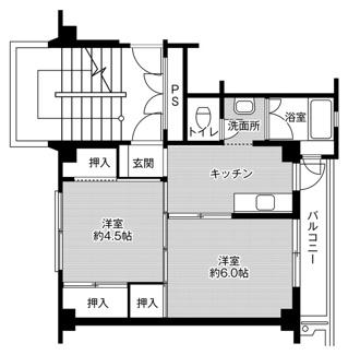 ビレッジハウス高屋2号棟