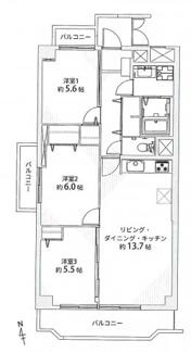 【外観】藤和シティコープ明大寺