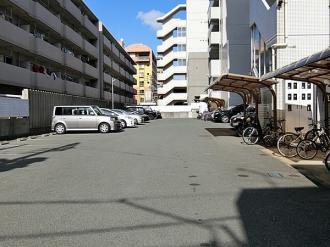 【駐車場】ラ・トゥール箱崎宮前